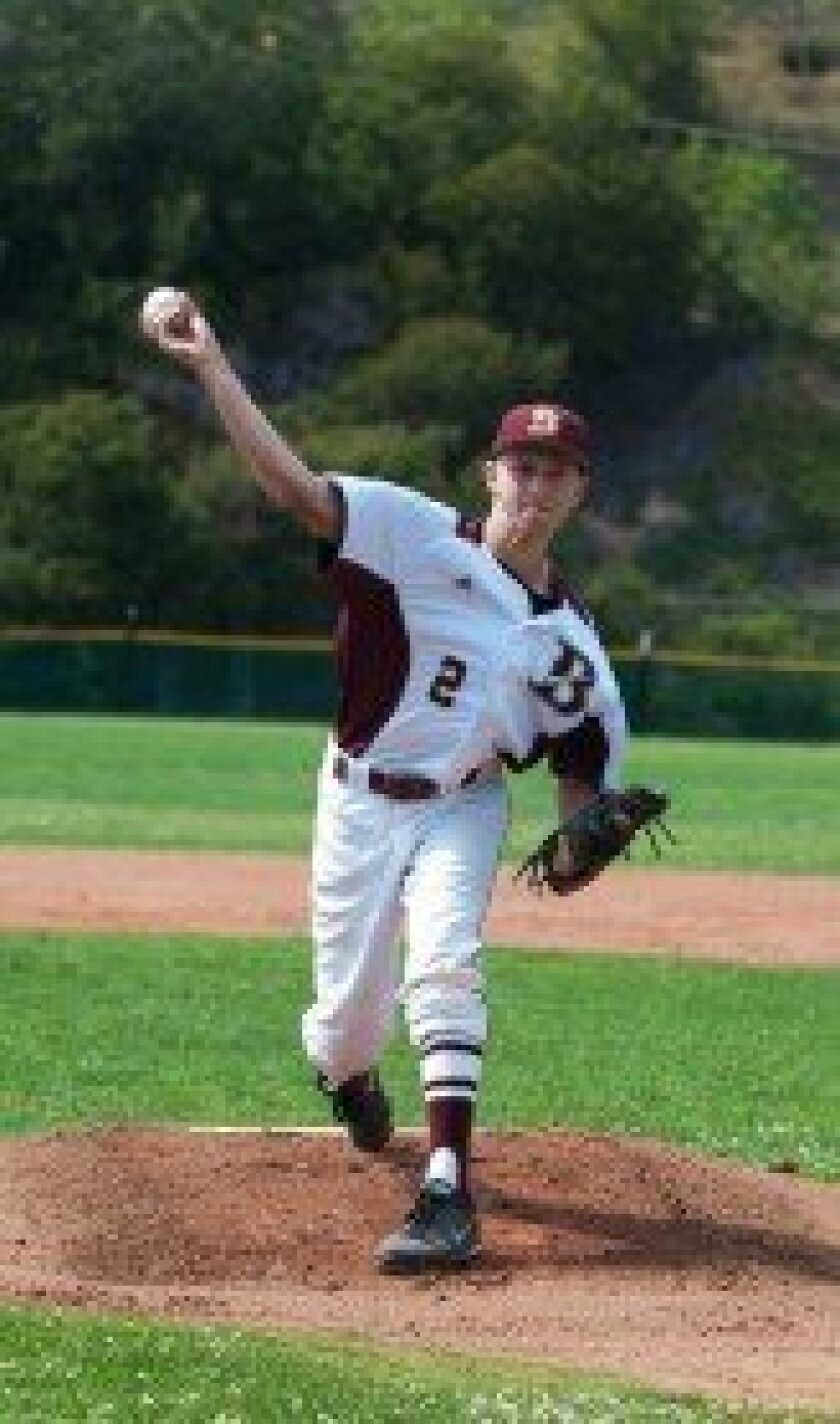 Robby Schreiber of Bishop's kept Southwest within a run for six innings before succumbing in the seventh in the Knights' CIF play-in game. The sophomore righthander racked up 60 innings this season.