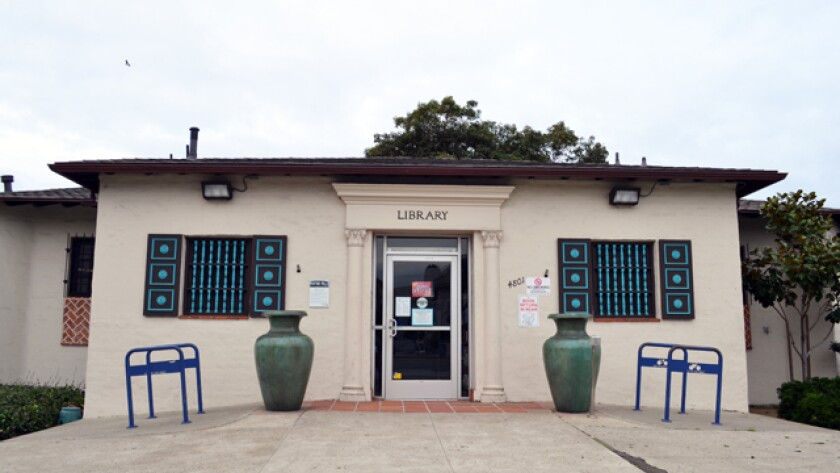 Ocean Beach library