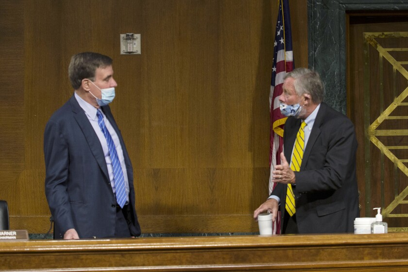 Senate Intelligence Committee hearing