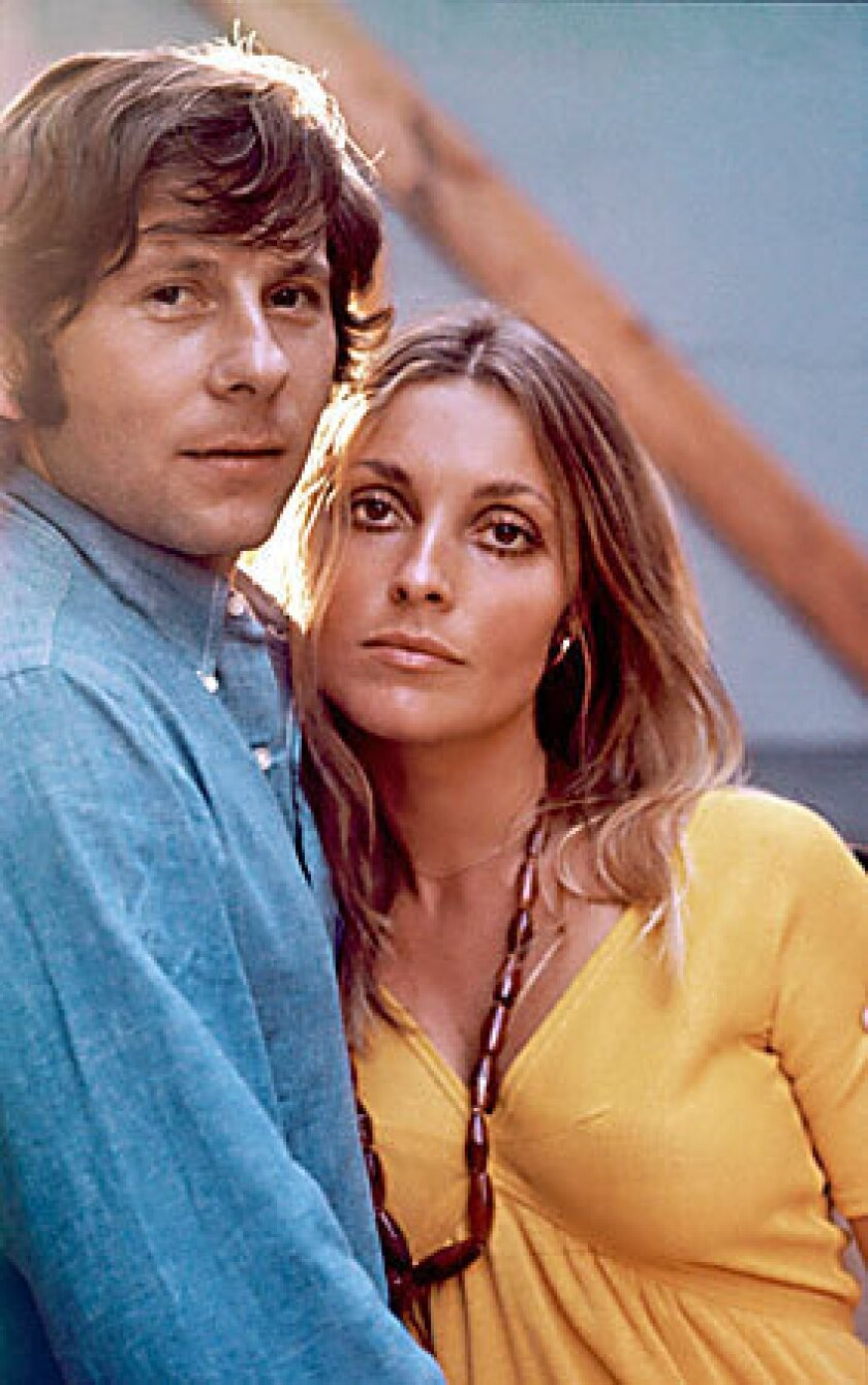 Roman Polanski and Sharon Tate in the 1960s.