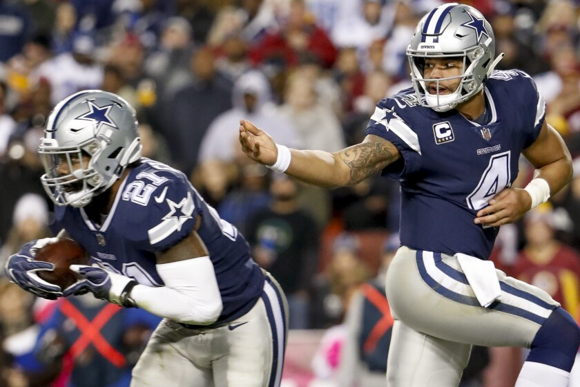 Fantasy Football 2019: Dallas Cowboys Preview - The San Diego Union
