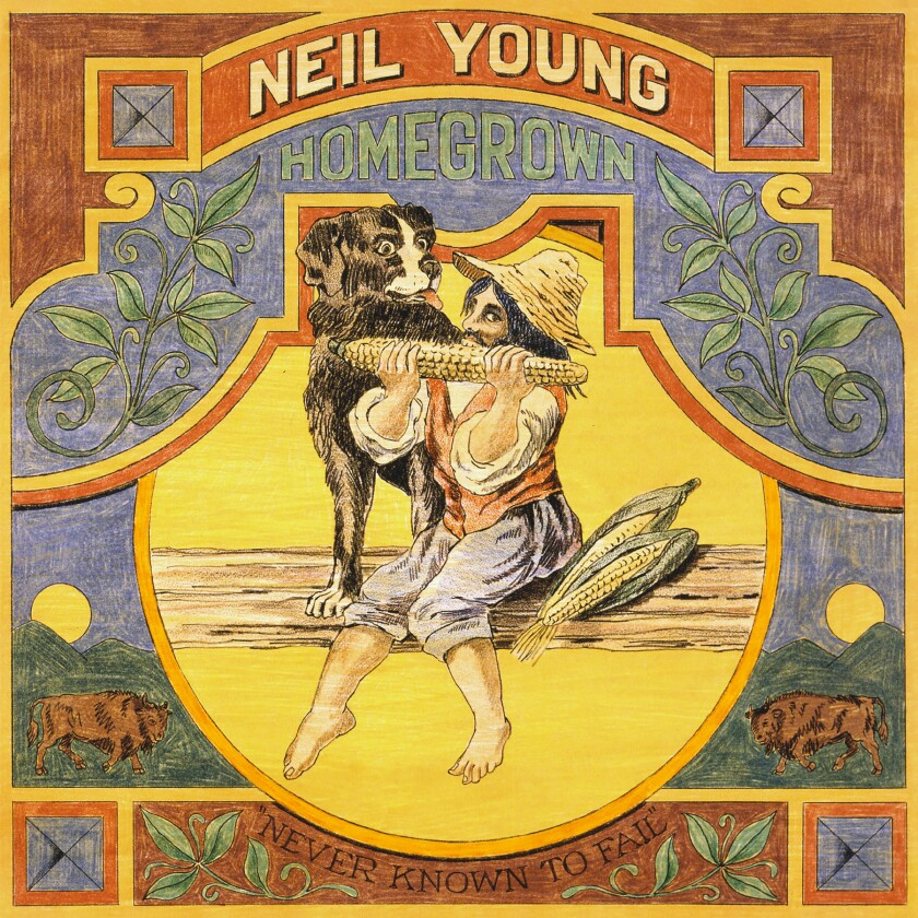 "This cover image released by Reprise Records shows ""Homegrown,"" a release by Neil Young. (Reprise via AP)"