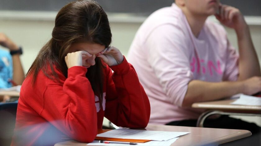 Fatigue a way of life for many high schoolers