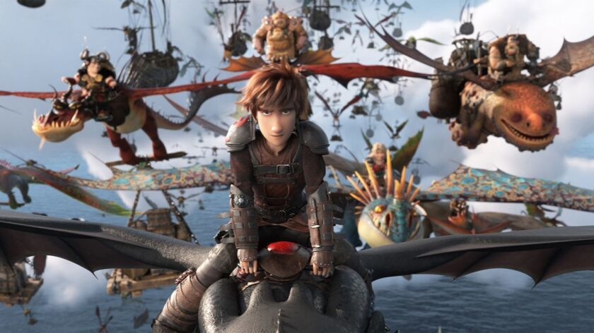 """The saga continues in the computer-animated fantasy tale """"How to Train Your Dragon: The Hidden World."""""""