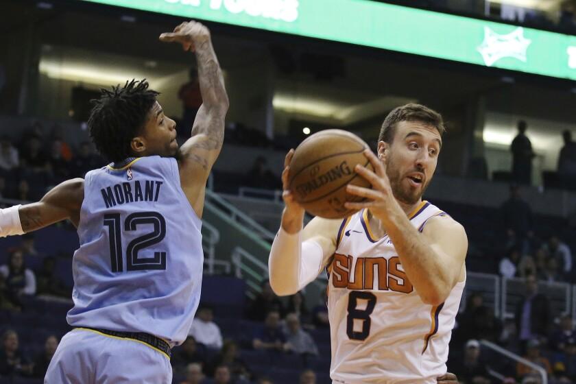 Grizzlies Suns Basketball