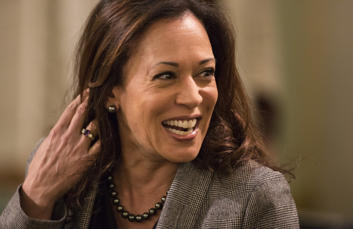 Opinion Kamala Harris Drop Out Is Depressing Los Angeles Times