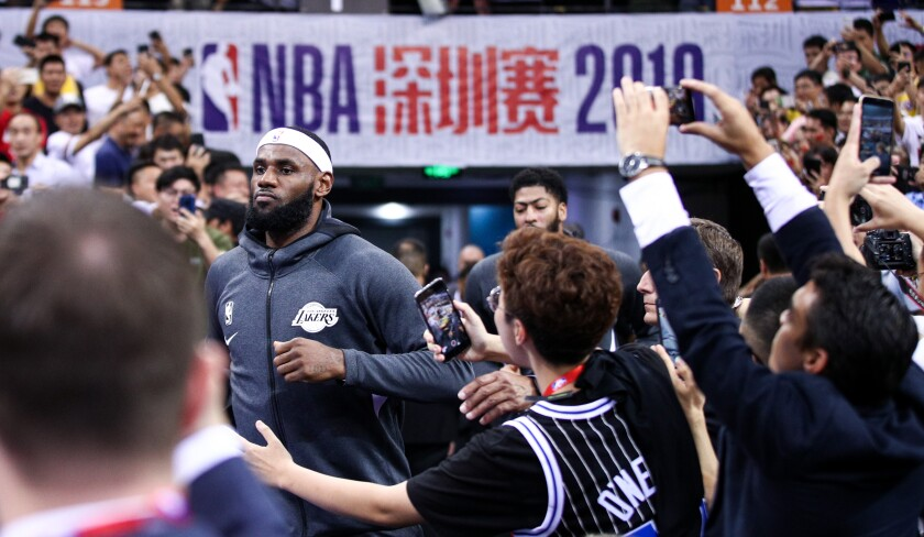 Lakers in China: How the team and NBA navigated the crisis amid tumultuous week