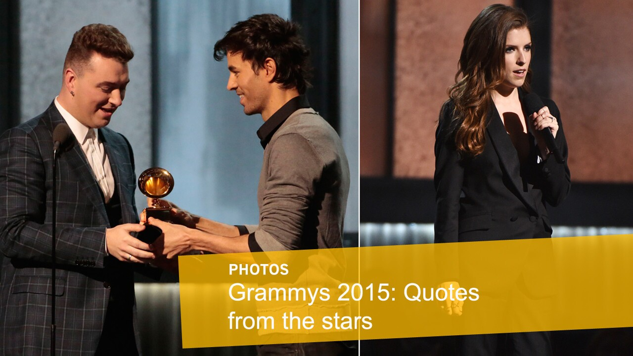 Click through to see how stars reacted to the 57th Grammy Awards. MORE: Show updates | Show highlights | Red carpet