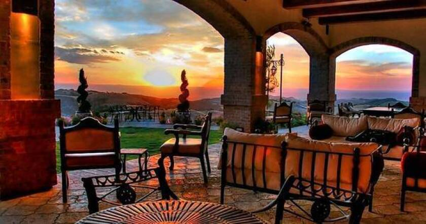 Sample wines at the Spanish Colonial-style Daou Vineyards, atop a 2,200-foot promontory, in nearby Paso Robles.