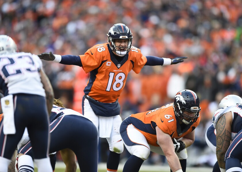 Super Bowl QBs Cam Newton and Peyton Manning are a study in contrasts, athletically and stylistically