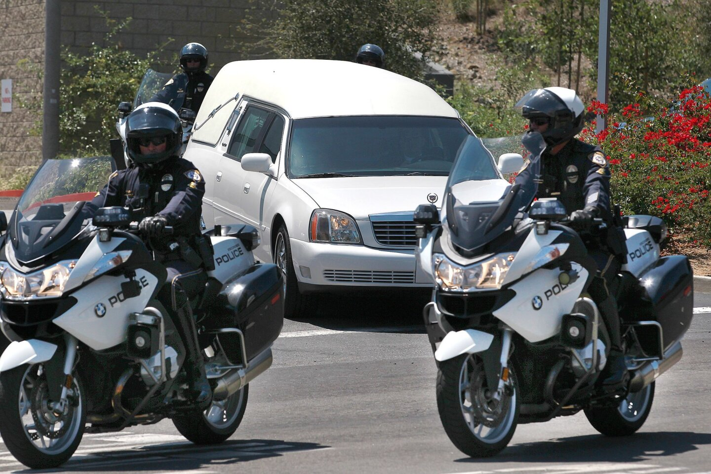 Escondido police officer memorialized