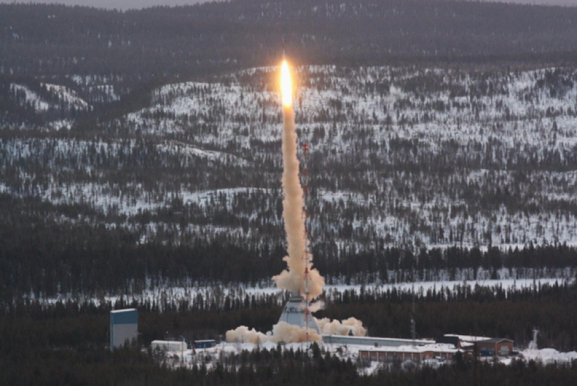 DNA survives sub-orbital trip on the exterior of a rocket