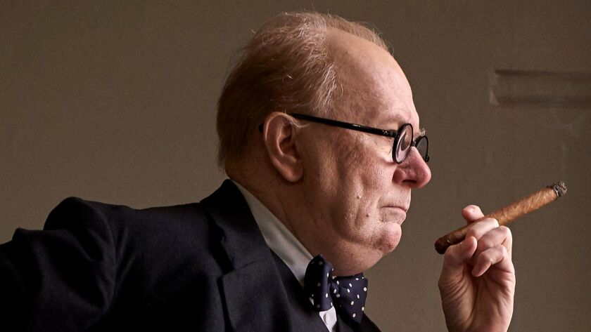 "Gary Oldman will play British Prime Minister Winston Churchill in ""Darkest Hour."" (Working Title Fil"