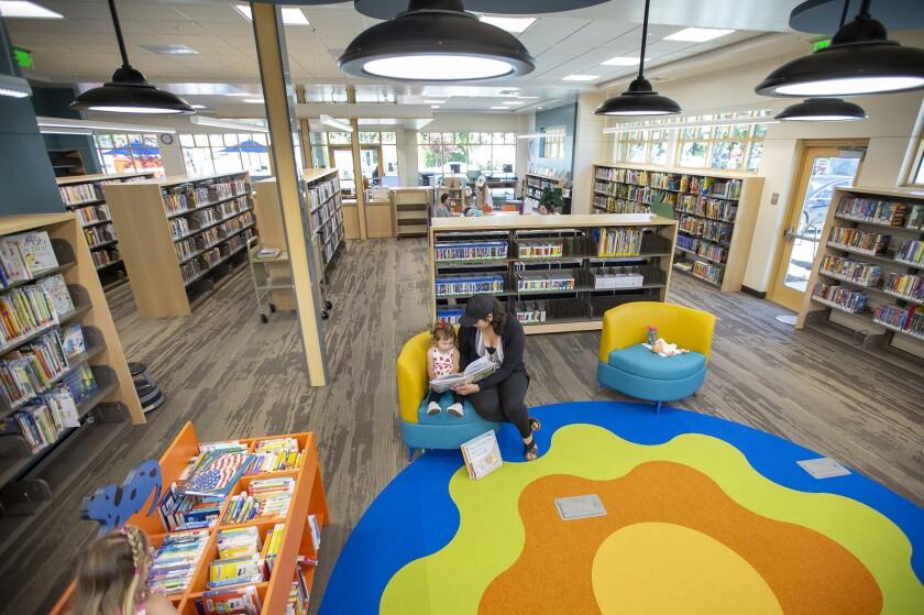 Corona del Mar library.