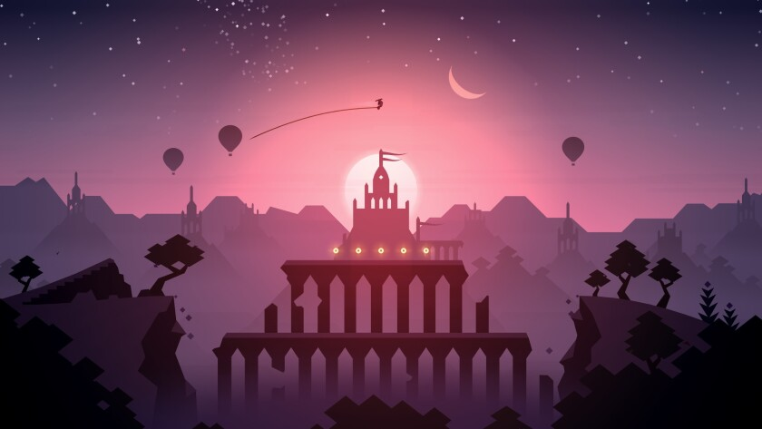 "If you struggle in ""Alto's Odyssey,"" chances are it's because you were taken with the visuals."