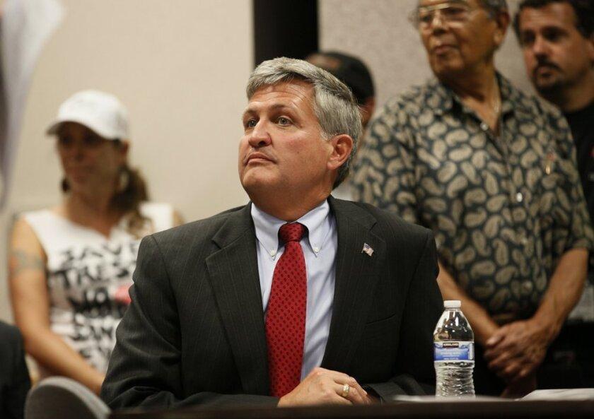 San Diego County Supervisor Dave Roberts.