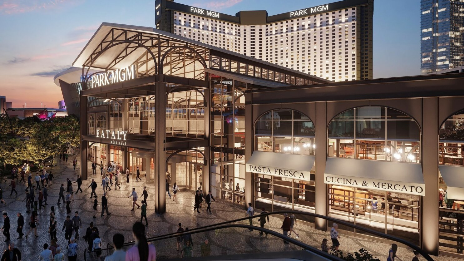 In Las Vegas It S Out With The Monte Carlo In With Park Mgm Here S A Sneak Peek Inside Los Angeles Times