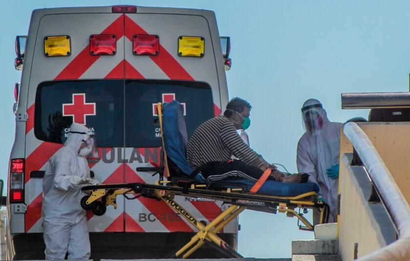 Tijuana, en la lucha contra la pandemia - Los Angeles Times