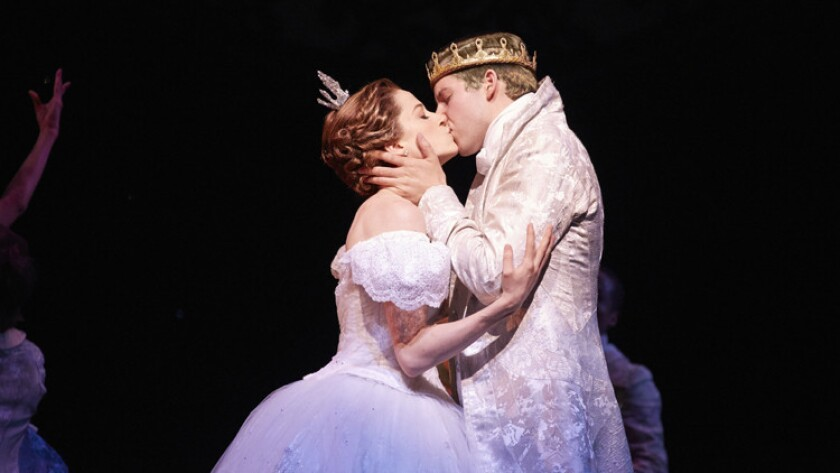 """Paige Faure and Andy Huntington Jones in """"Rodgers & Hammerstein's Cinderella."""""""
