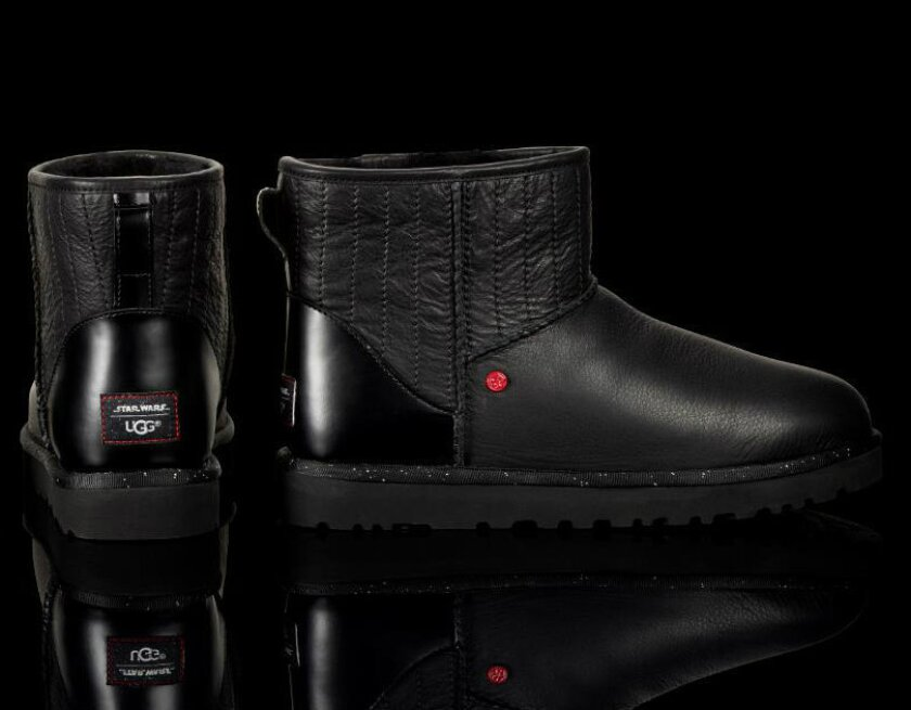 Lucasfilm and Ugg have collaborated on a limited-edition Darth Vader collection launched on May 4 in celebration of Star Wars Day.