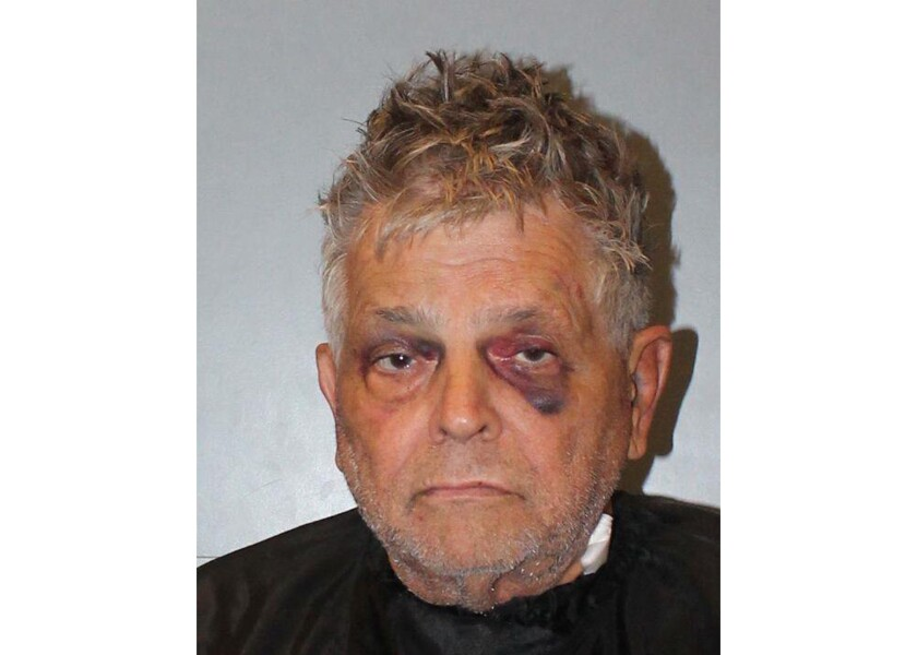 """FILE - This photo provided by the Richland County, S.C., Jail, shows Frederick Hopkins. A prosecutor announced Thursday, June 11, 2020 he will seek the death penalty against the South Carolina man charged with shooting seven police officers in an ambush, killing two of them during a hearing where the defendant twice called the prosecutor """"Fat Eddie."""" (Richland County Jail via AP, File)"""