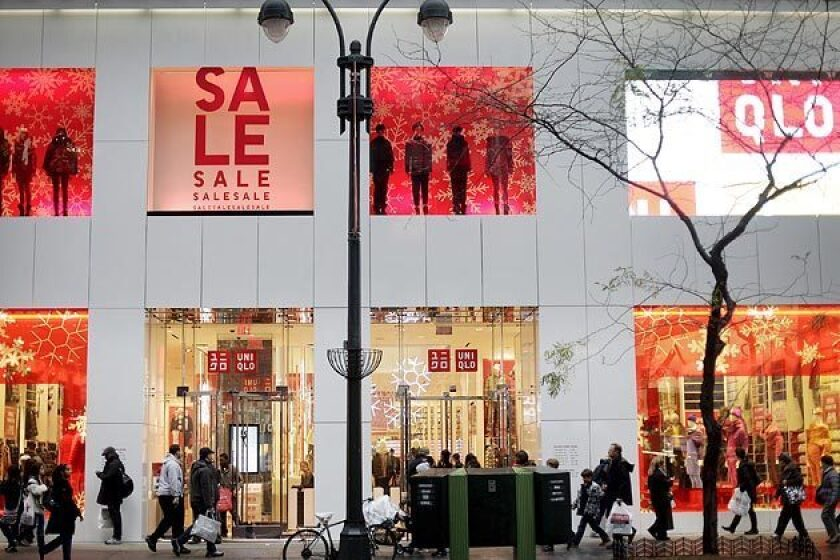 UNIQLO is opening five of its first Southern California stores