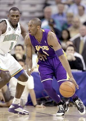 Los Angeles Lakers v New Orleans/Oklahoma City Hornets