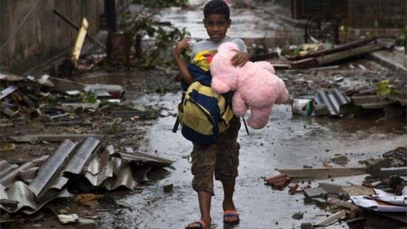 Unas 35.000 personas fueron evacuadas de Baracoa.