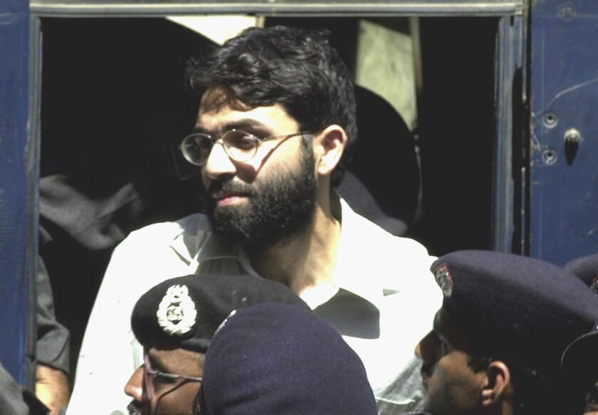 Ahmad Saeed Omar Sheikh was convicted, then acquitted in U.S. journalist Daniel Pearl's 2002 slaying.