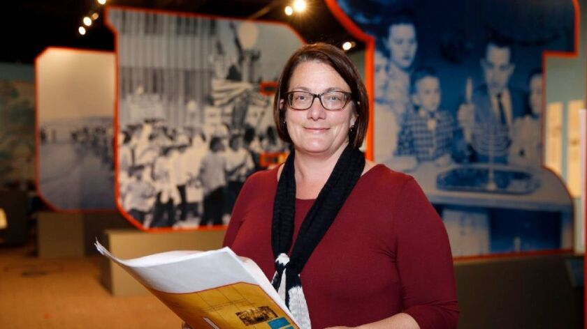 """Joellyn Zollman, curator of """"Celebrate San Diego: The History & Heritage of San Diego's Jewish Community."""""""