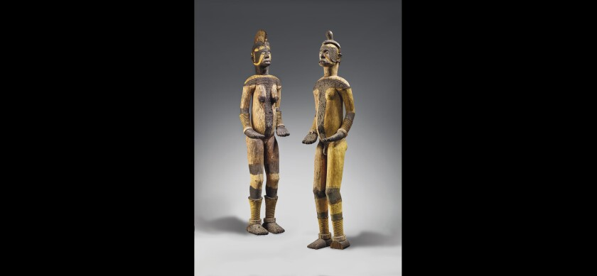 Two Igbo statues.