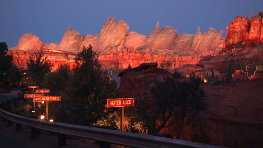 Cars Land at Disney California Adventure represents one of the theme park's most meticulously detail