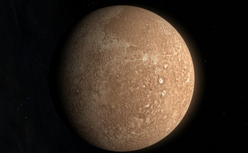 NASA says there is ice on Mercury, the planet closest to the sun.
