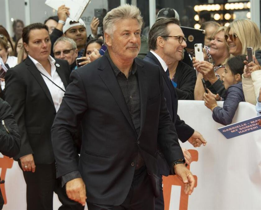 US actor and cast member Alec Baldwin (C) arrives for the screening of the movie 'The Public' during the 43rd annual Toronto International Film Festival (TIFF) in Toronto, Canada, 09 September 2018. (Cine, Cine) EFE/EPA/File