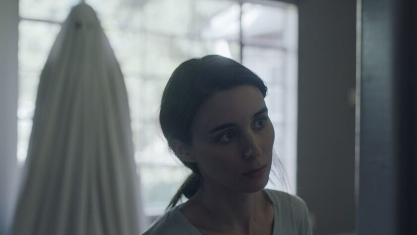 """Rooney Mara in a scene from the film """"A Ghost Story."""""""