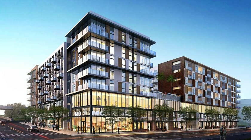 Broadstone Makers Quarter, an apartment project at 16th and E streets downtown, is expected to open in 2017.