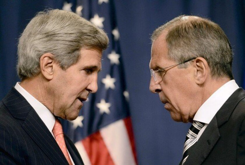 U.S., Russia reach agreement on Syria that avoids military strike