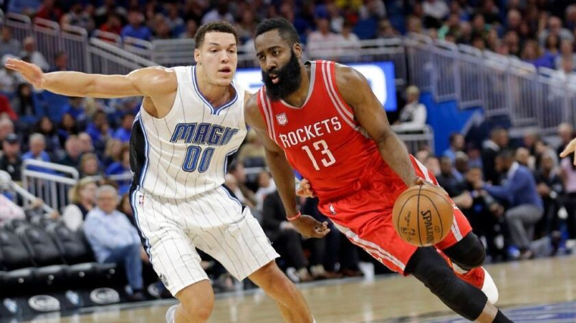 NBA: Houston Rockets top Orlando Magic, 100-93, for seventh straight win