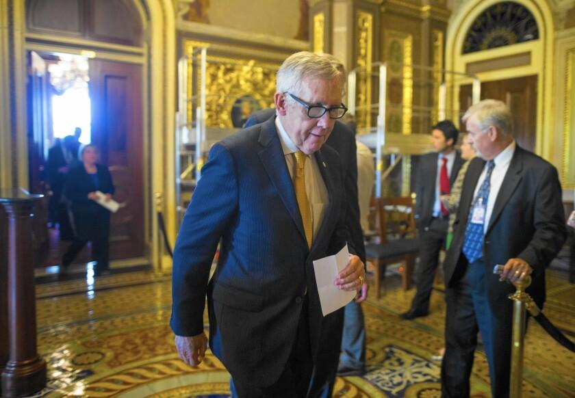 Trade deal blocked by Senate Democrats
