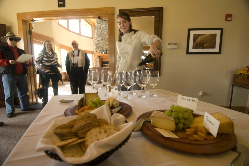 The Rivers of Wine cruise stops for tastings at vineyards in the Pacific Northwest.