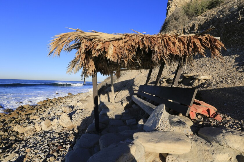 "Visitors have said that a group of locals called the Bay Boys hold forth in this ""fort"" and discourage outsiders from surfing in Lunada Bay."