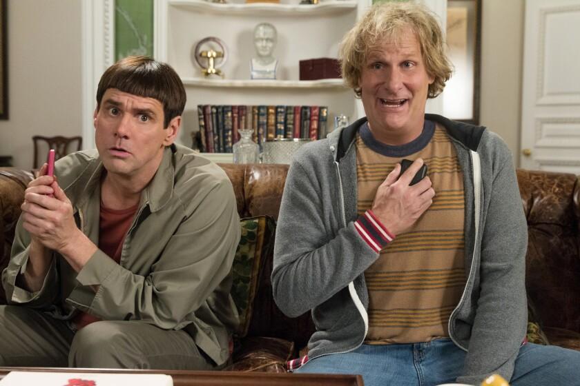 "Jim Carrey and Jeff Daniels: ""Dumb and Dumber To"""
