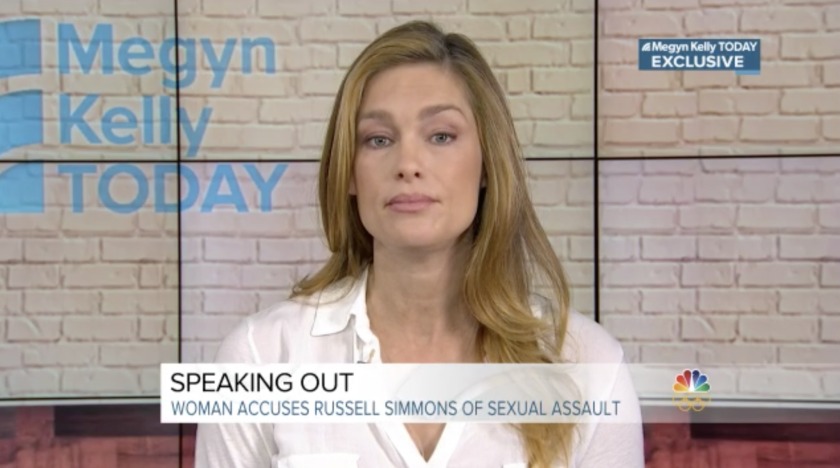 Russell Simmons' accuser tells Megyn Kelly: 'There was no dispute about what happened'