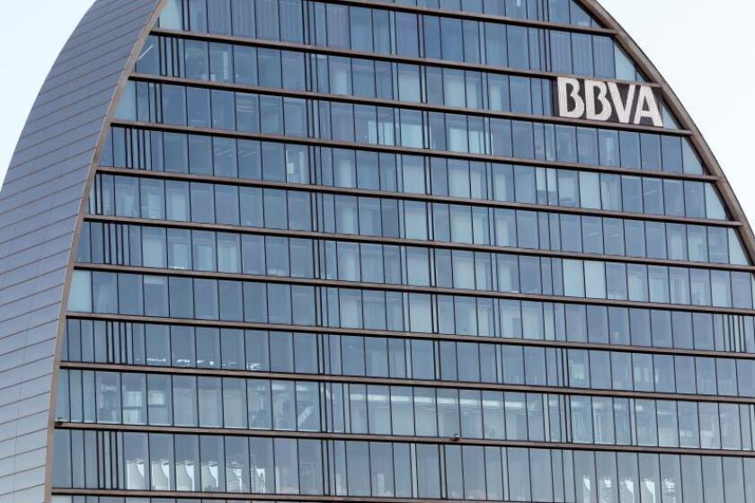 Sede del Banco Bilbao Vizcaya Argentaria (BBVA). EFE/Archivo
