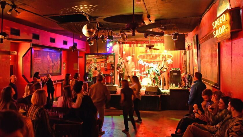 The Continental Club is an intimate venue but has hosted many well-known performers.