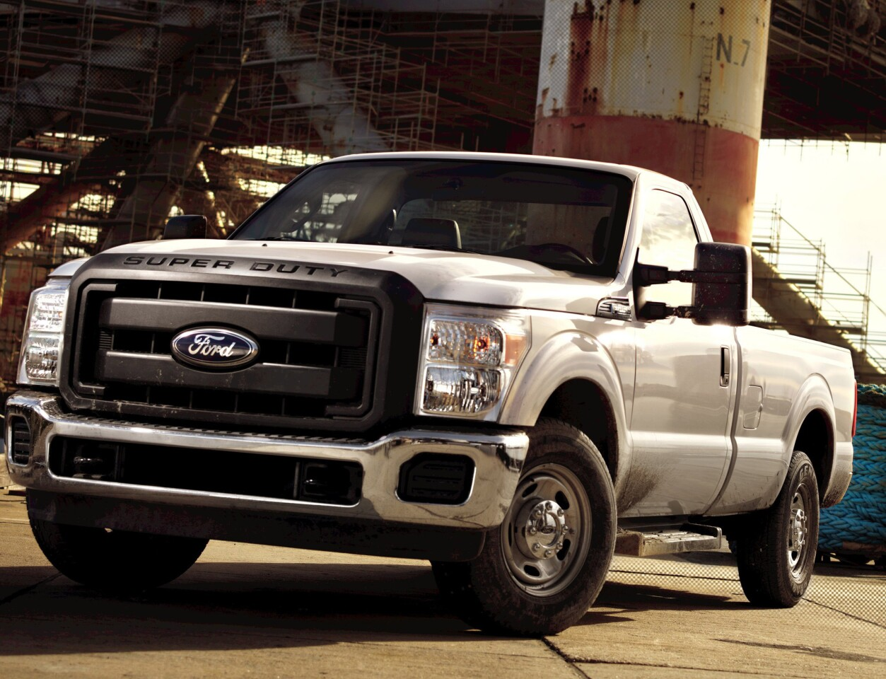 More than 4% of the Ford F-250 Super Duty pickup trucks advertised on the resale market had more than 200,000 miles on the odometer, the most of any vehicle, according to iSeeCars.com, a used-car information site.