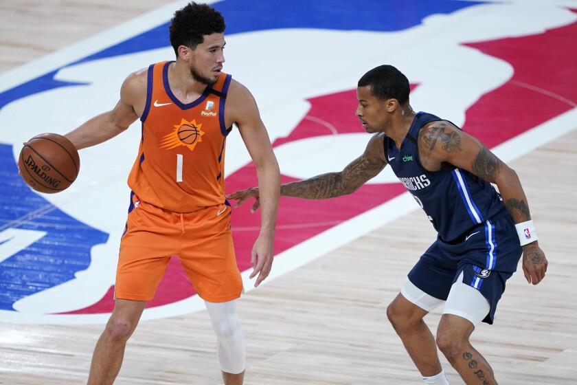 Devin Booker de los Suns de Phoenix