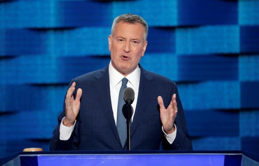 El alcalde de Nueva York, Bill de Blasio. EFE/Archivo