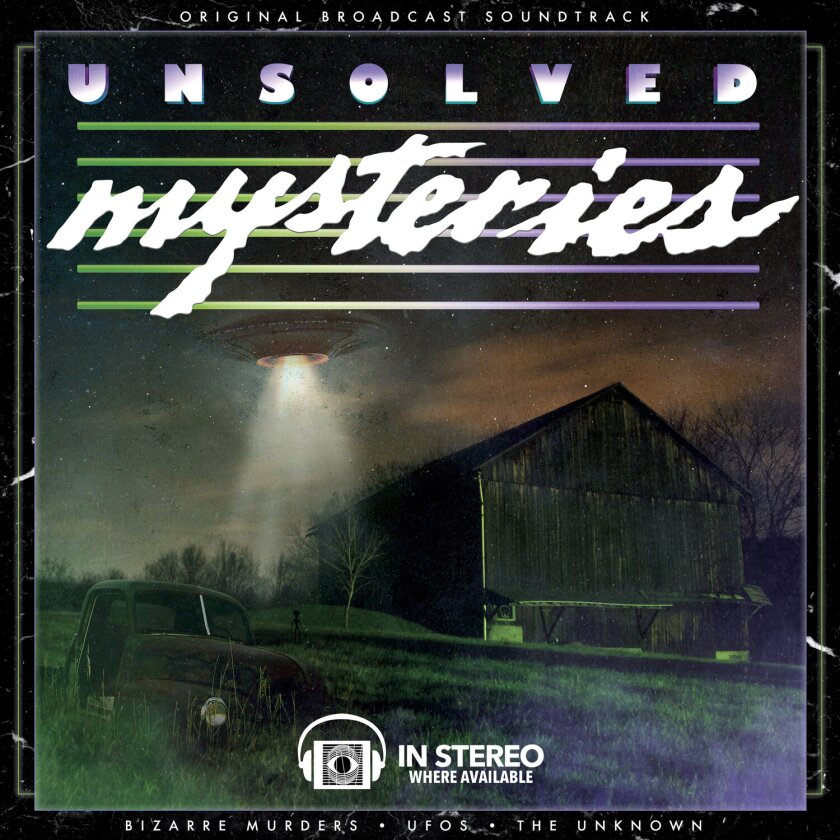 """Terror Vision released a compilation of music from """"Unsolved Mysteries."""""""