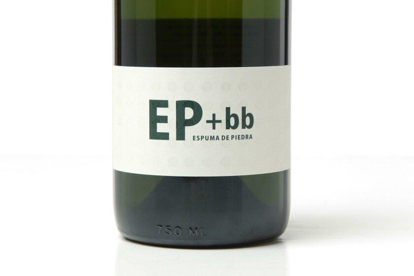 EP + bb = Espuma De Piedra Blanc de Blancs, from the prestigious winemaker Hugo D'Acosta.